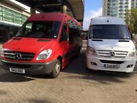 17 seater executive minibus hire with driver for any occasion call Gill 07812701482
