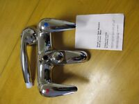 Brand New Heavy Duty Chrome Single lever Bath & Shower Taps