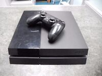 **Ps4 500gb Inc Leads and one Controller**