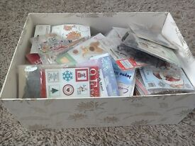 Large box of stamps