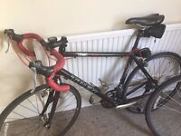 Trek Pilot 1.0 Road Bike, with helmet, shoes and pedals 58cm frame - well loved