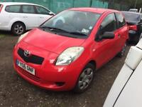 2006 Toyota Yaris 1.0 t2 red ✅ clean low milage . Bargain micra .