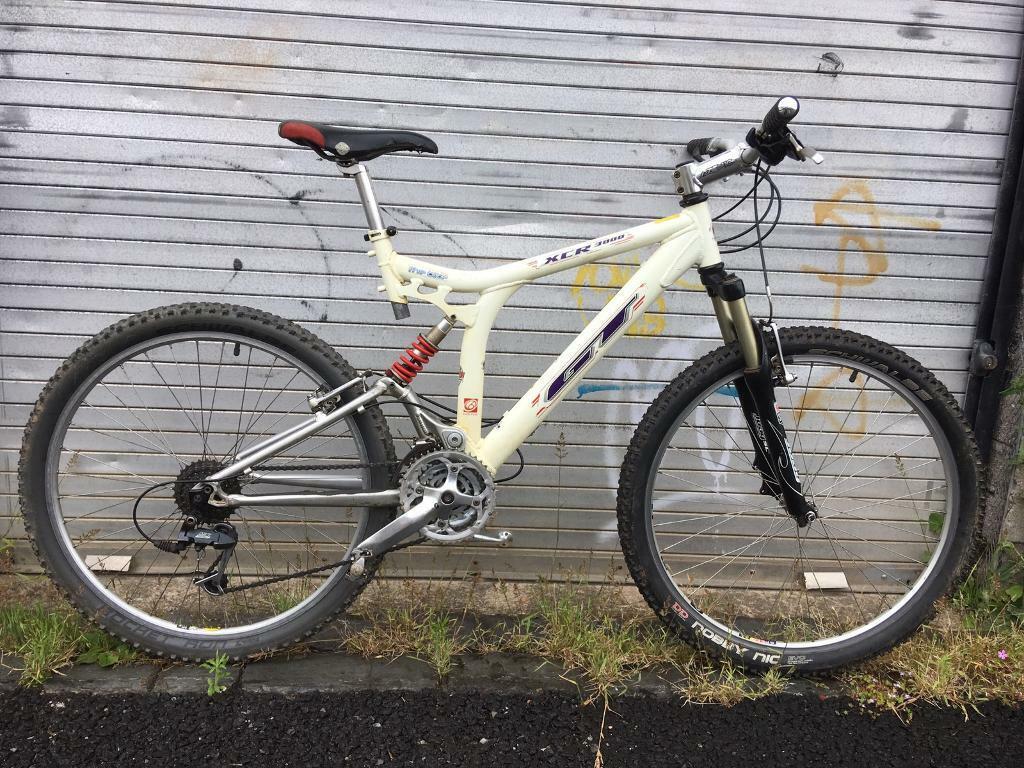 Retro Gt Xcr 3000 I Drive Full Suspension Mountain Bike In Bristol