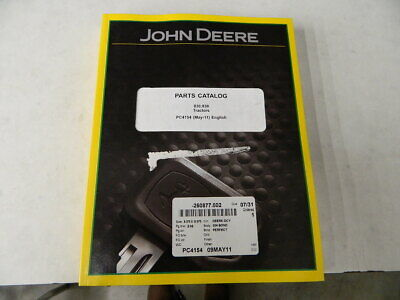 John Deere Parts Catalog For 830 930 Lawn Tractors Published May 2011