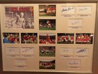 England 1966 World Cup Team - Signed Memorabilia