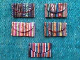 Colorful Handmade Wallets