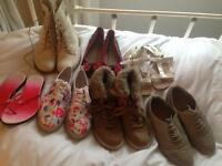 Woman's/ Girl's shoes, sizes 3-5