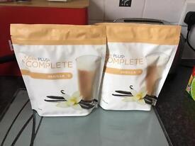 2 pouches of Vanilla Juice Plus