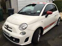 2010 FIAT 500 ARBARTH ESSEESSE TURBO 1.4 LOW MILEAGE FULLY LOADED FAST LITTLE POCKET ROCKET