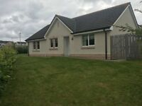 3 bed part furnished bungalow located in Milton of Leys, Inverness for rent