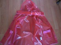 Raincoat from H&M, size 6-8 years