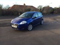 2006 FIAT GRAND PUNTO 1.2 PETROL 5 DOORS HATCHBACK- ONLY DONE 57K- LONG MOT- READY TO DRIVE AWAY--
