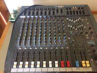 Soundcraft Spirit Powerstation 600 with pair of EV SX 300 Speakers
