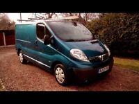Vauxhall vivaro 2.0 tdi sport 57 reg