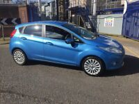 2009 09reg Ford Fiesta 1.6 Tdci Titanium blue 5 door good runner