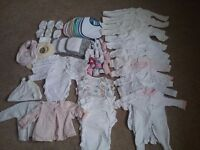 Large selection of Newborn Clothes and Accessories (very good condition)