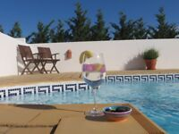 Things are cooking.........Cosy Algarvian retreat near Silves, Portugal.