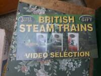 Vhs set - steam trains