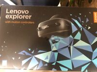 For sale Lenovo Explorer, with motion controllers.