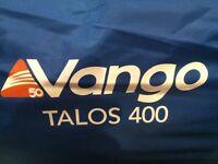 Vango Talos 400 4 Man Tunnel Tent(Used Once)