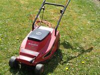 Mountfield electric lawn mower, no grass box.