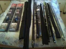 Beachcaster surf rods