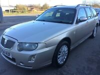 2004 ROVER 75 CONTEMPORARY ESTATE TOURER - GENUINE 65K MILES WITH F-S-H 9 STAMPS<EXCELLENT