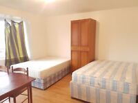 Hammersmith Large Twin Room Share for 1 Female Avail Now