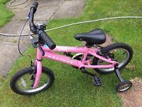 "Child's bike / Bicycle: Ridgeback Honey (14"" wheels)"