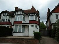 Stunning Large One Bed Ground Floor Garden Flat * Part Furnished * Parking * MUST BE SEEN