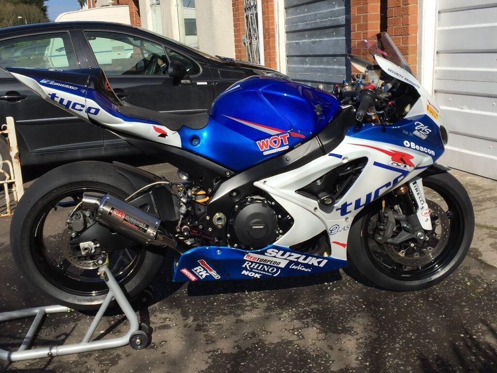 Suzuki Gsxr 1000 K7 Trackbike In Four Winds Belfast