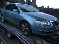 VW Passat 2007 2.0 tdi engine dsg auto gearbox turbo breaking bonnet bumper headlights wings