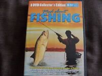 MAD ABOUT FISHING - 8 DVD COLLECTORS EDITION (New & Boxed)
