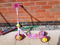 Peppa pig scooter 3 wheels