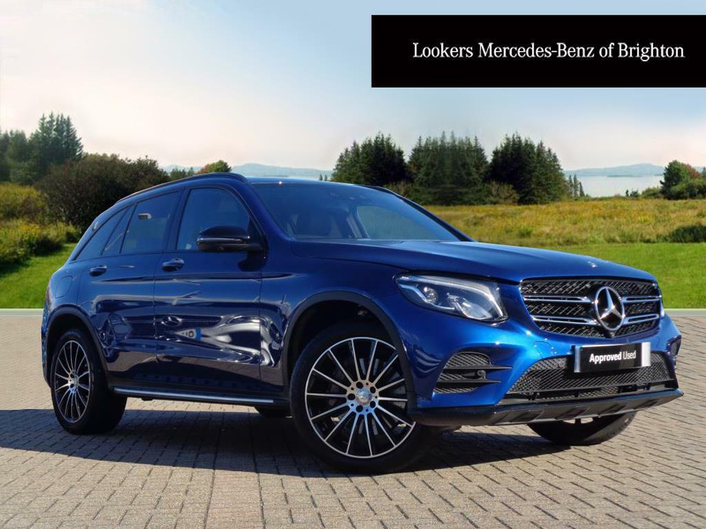 mercedes benz glc class glc 250 d 4matic amg line premium blue 2016 09 20 in portslade east. Black Bedroom Furniture Sets. Home Design Ideas