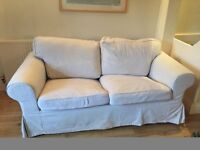 Sofa ikea 2 person ektorp, reasonable condition, £5 only