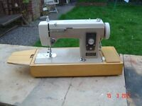 Electric Sewing Machine with Carry Case. In Good working Order. Can Deliver.