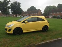 Vauxhall Corsa Limited Edition 1.2 Yellow