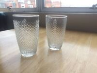 Several Glasses & table bases