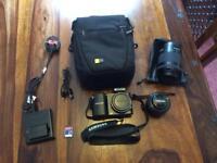 Samsung NX1000 camera & 50-200 lens