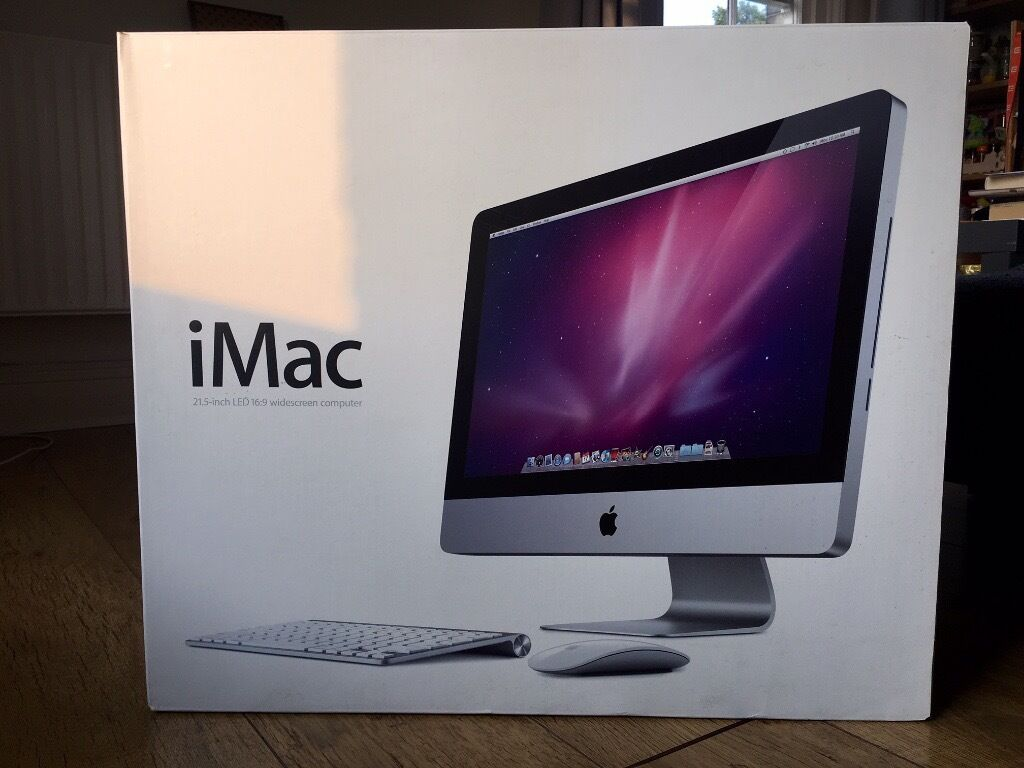 Apple iMac 21.5 inch Desktop3.06GHz, 16GB RAM, 500GB HD (MC508B/Ain Lewisham, LondonGumtree - Selling my iMac as I am upgrading to a newer model. The computer is in perfect cosmetic condition, runs like new and hasnt had one repair in its lifetime. Original box and all accessories included.  The RAM has been upgraded to 16GB and I have...