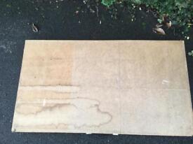 Wallpaper pasting table.