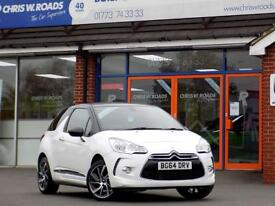 CITROEN DS3 1.6 DSTYLE PLUS 3dr 120 BHP ** Bluetooth + Cruise (white) 2014