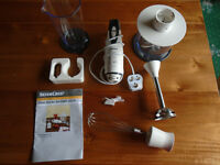 HAND BLENDER SET, BRAND NEW in ORIGINAL BOX, NEVER USED