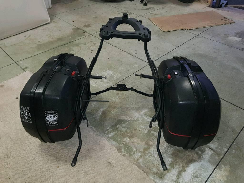 Honda Vfr800 vtrc panniers luggage frame givi