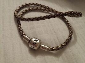 Pandora bracelet in champagne