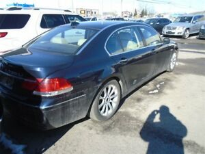 2006 BMW 7 Series Li MOTEUR DEFECT