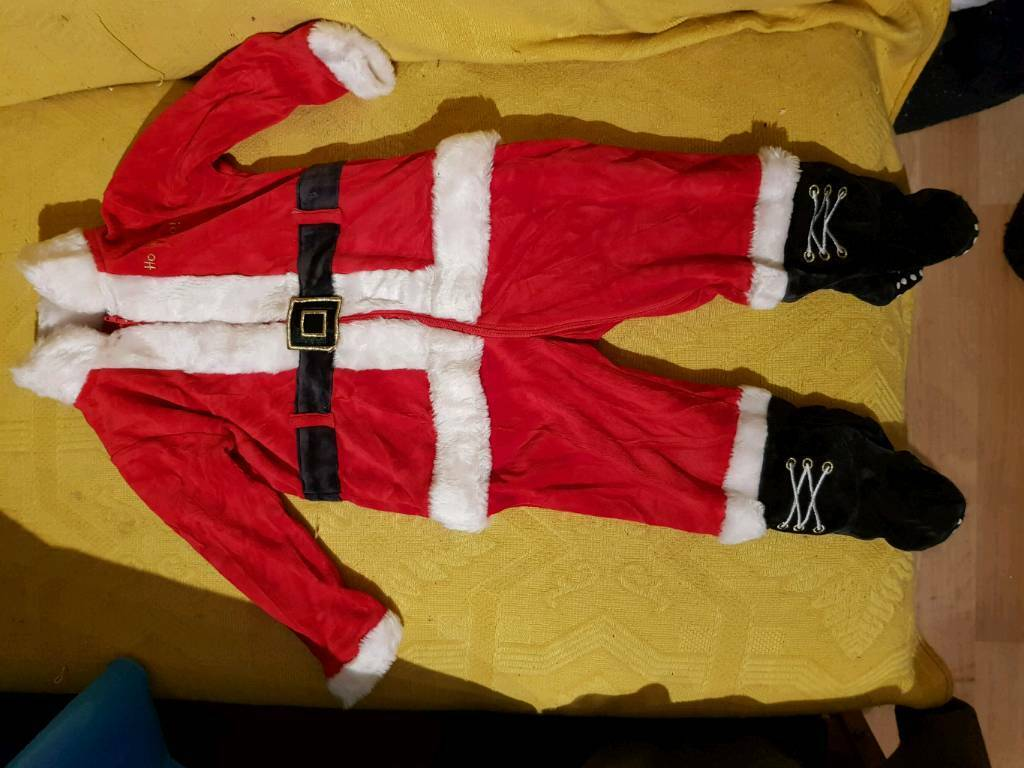Mothercare little Santa costume Christmas