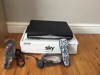 Sky Plus (Sky+) box with wifi and 250gb storage - new in sealed box