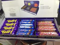 Beautiful selection box of chocolates confectionary